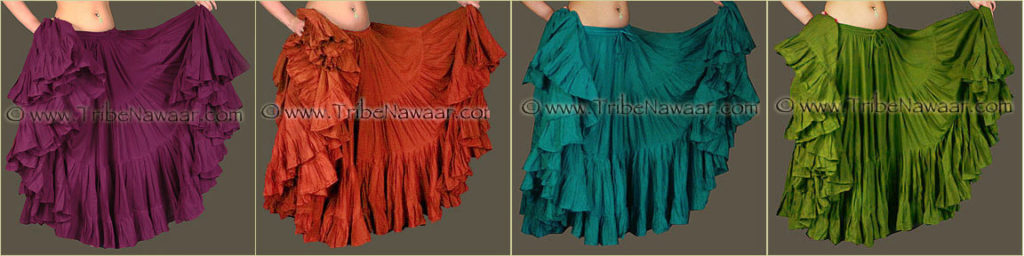 Tribe Nawaar's Color Theory For Costuming, Tetradic Harmonies: Red-Violet, Red-Orange, Blue-Green & Yellow-Green