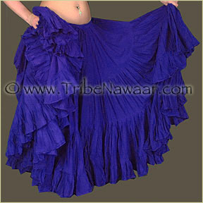 Tribe Nawaar's Color Theory For Costuming, Blue-Violet Skirt