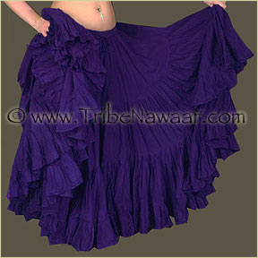 Tribe Nawaar's Color Theory For Costuming, Violet Skirt