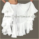 Tribe Nawaar's Color Theory For Costuming, White Skirt