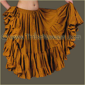 Tribe Nawaar's Color Theory For Costuming, Yellow-Orange Skirt