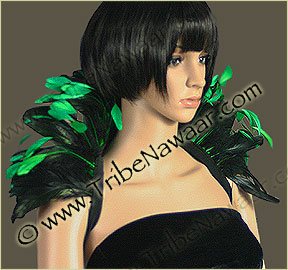 Theatrical Feather Collars