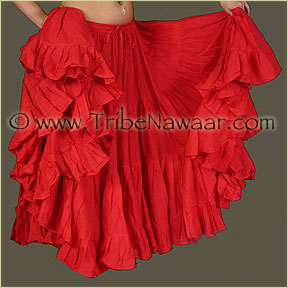 Tribe Nawaar's Color Theory For Costuming, Red Skirt