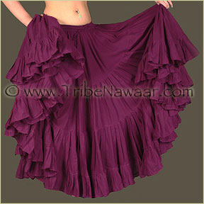 Tribe Nawaar's Color Theory For Costuming, Red-Violet Skirt
