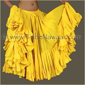 Tribe Nawaar's Color Theory For Costuming, Yellow Skirt