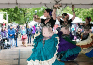 Tribe Nawaar performs at the Boulder Creek Festival