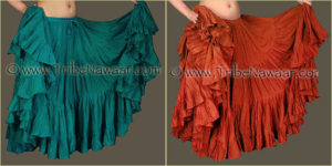 Tribe Nawaar's Color Theory For Costuming, Complementary Harmonies: Blue-Green & Red-Orange