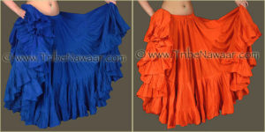 Tribe Nawaar's Color Theory For Costuming, Complementary Harmonies: Blue & Orange
