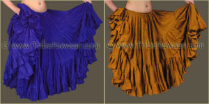 Tribe Nawaar's Color Theory For Costuming, Complementary Harmonies: Blue-Violet & Yellow-Orange