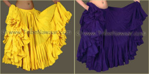 Tribe Nawaar's Color Theory For Costuming, Complementary Harmonies: Yellow & Violet