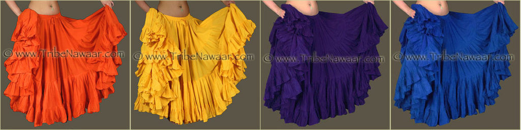 Tribe Nawaar's Color Theory For Costuming, Tetradic Harmonies: Orange, Yellow, Violet & Blue