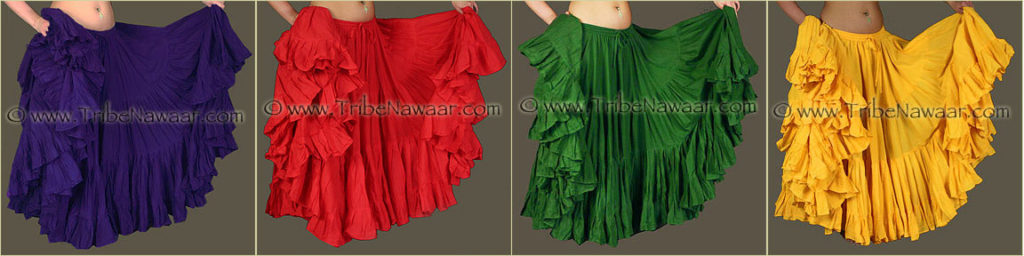 Tribe Nawaar's Color Theory For Costuming, Tetradic Harmonies: Violet, Red, Green & Yellow