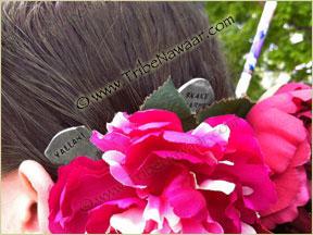 Tribe Nawaar's yallah! hair fork, modeled