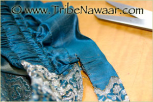 How To Shorten Salawar Aka Harem Pants Or Pantaloons