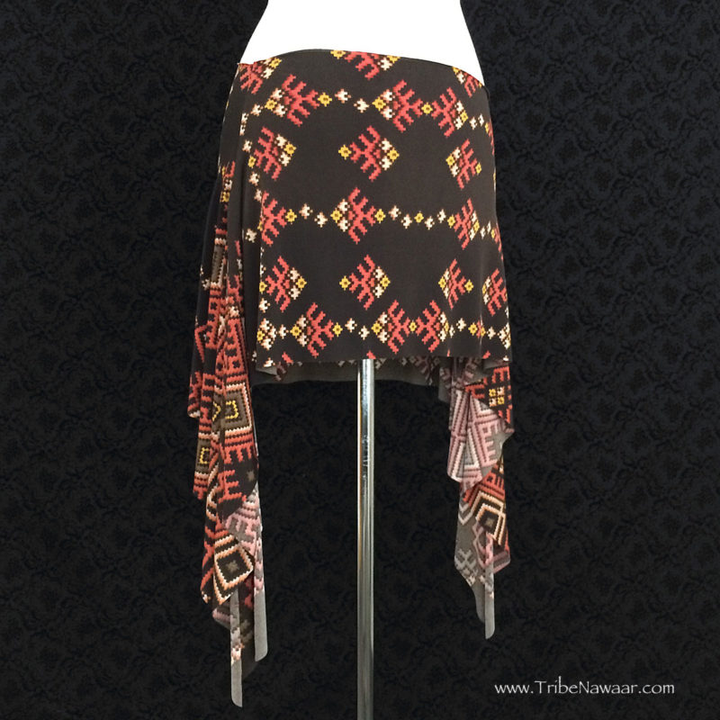 Santa Fe Rosehips Skirt, Limited Edition Fabric