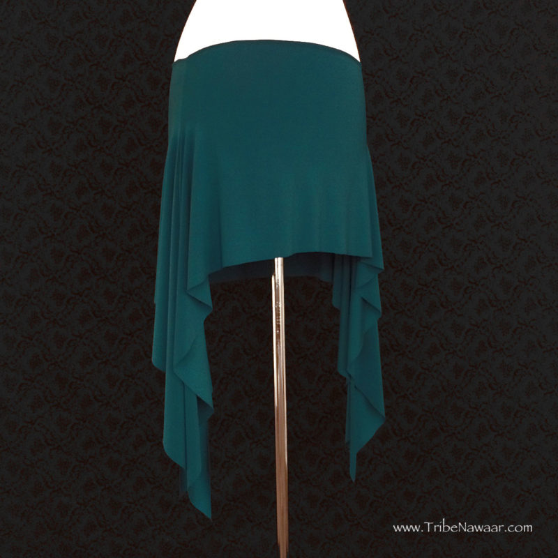 Teal Jewel Rosehips Skirt