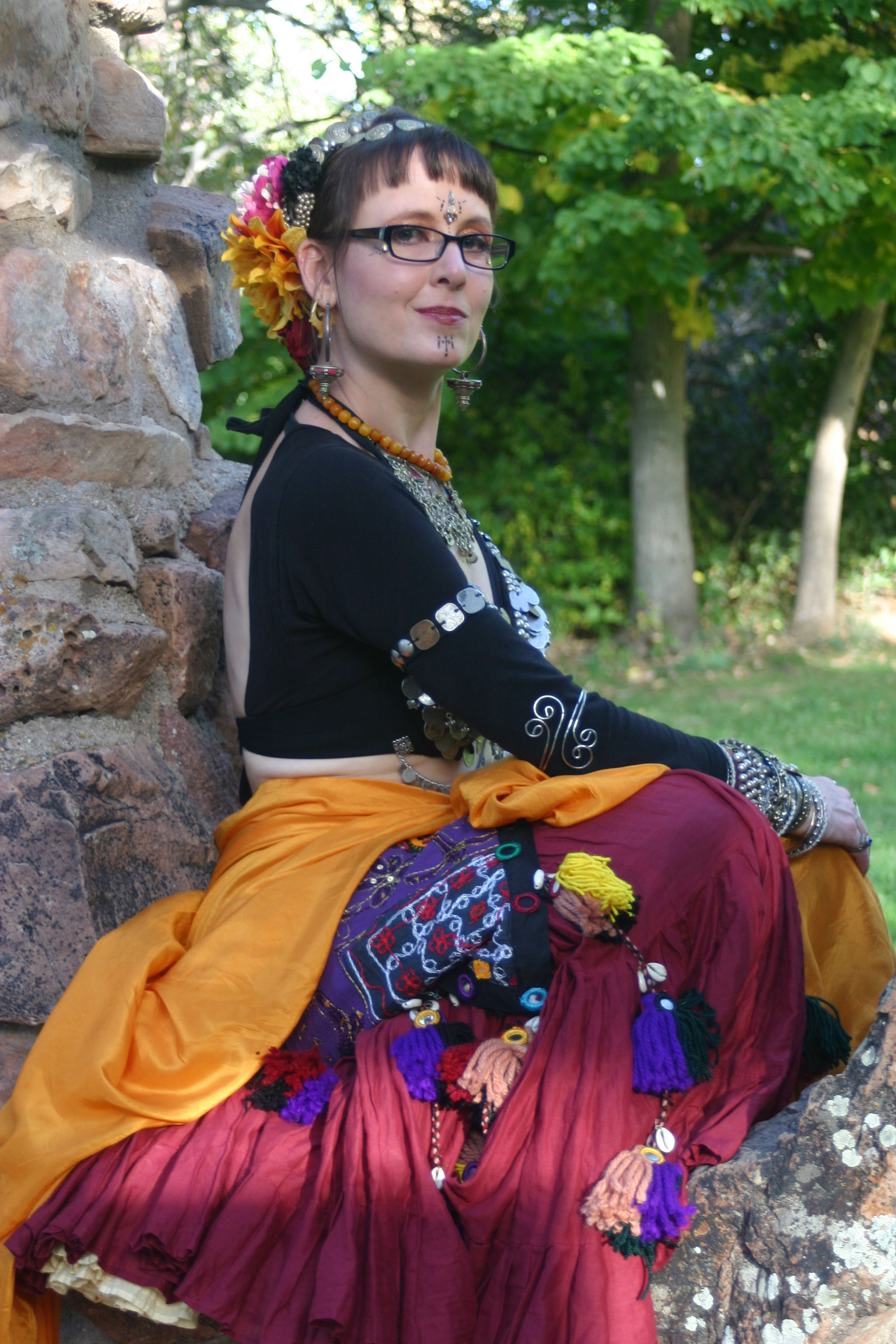 Jennifer Secrist Goran, lead instructor & director of Tribe Nawaar