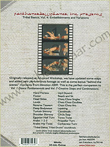 Tribe Nawaar's FCBD® DVD: Tribal Basics Vol. 4; Embellishments & Variations, back