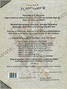 Tribe Nawaar's FCBD® DVD: Tribal Basics Vol. 8; Floorwork, back