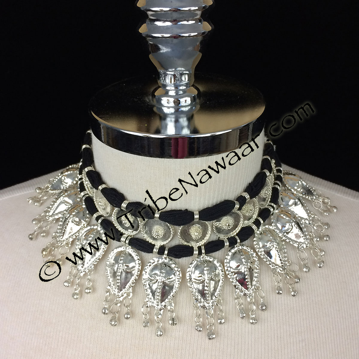 Tribe Nawaar's classic Odissi costume necklace