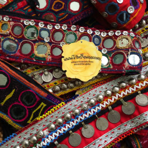 Tribal Textile Belts