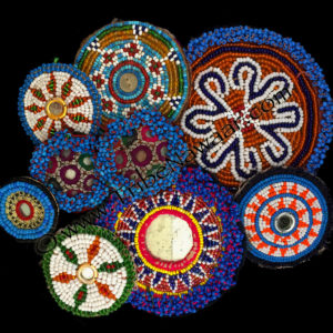 Traditional Beaded Flair Medallions