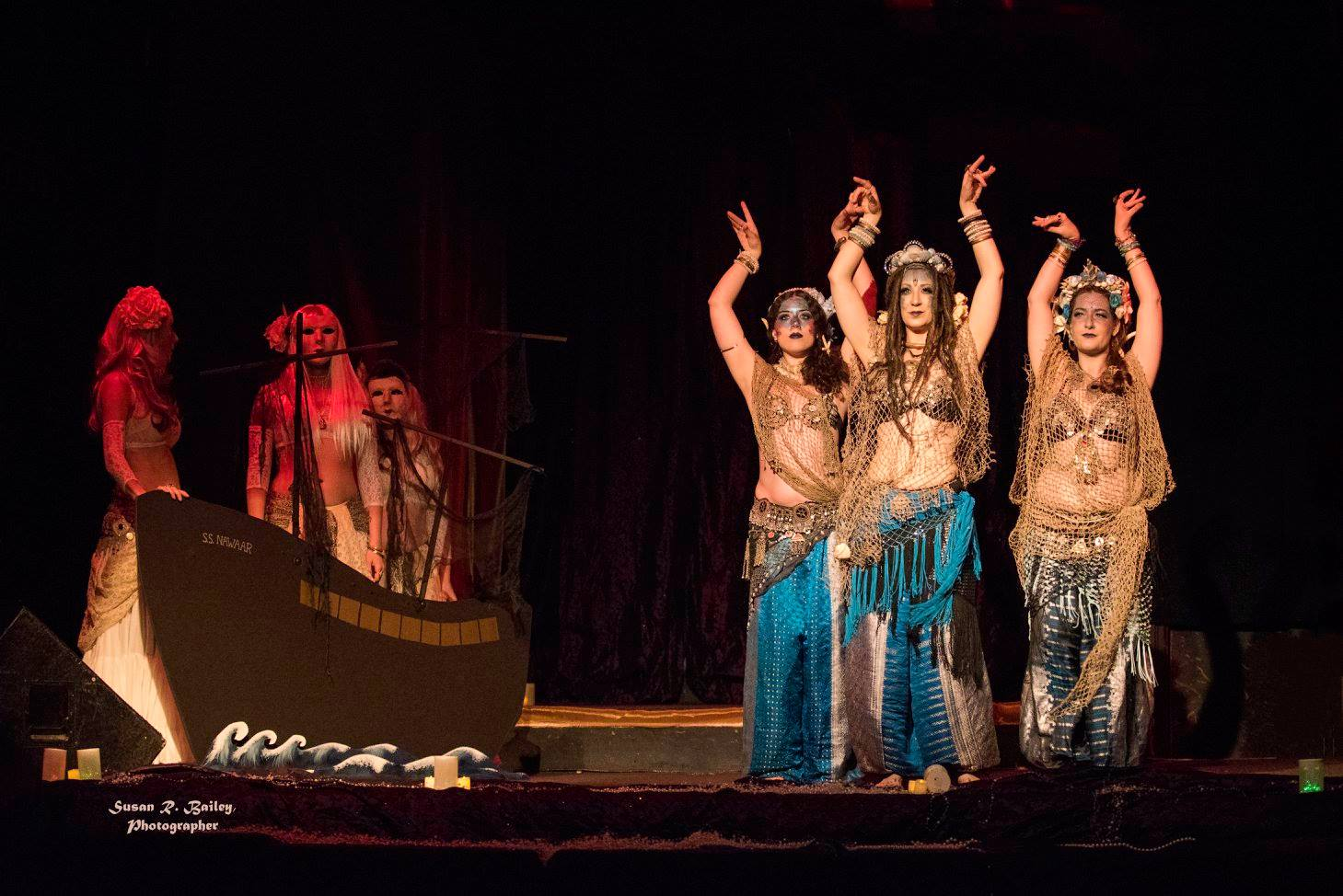 Tribe Nawaar performing at Illumination 2017 (photo courtesy Susan Bailey)