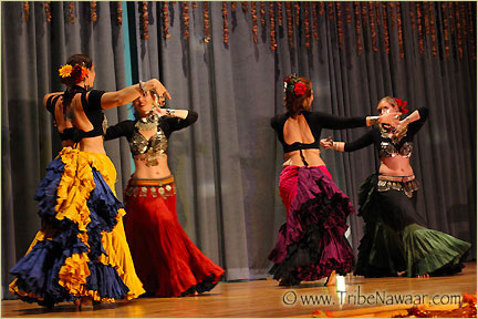 Tribe Nawaar's Tribal In Motion Level 2 Bellydance Classes