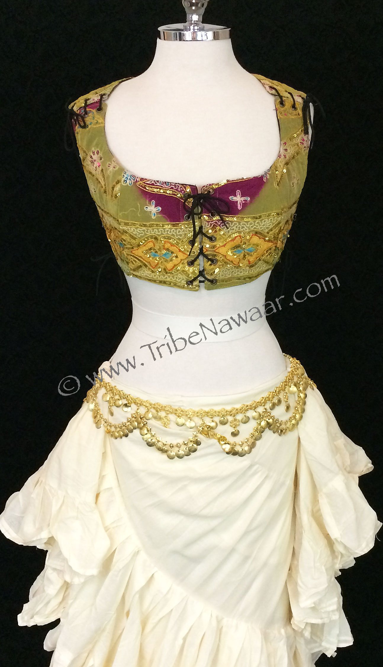 2f008ee800da Tips & Ideas For Bellydance Corseted Bodice Tops - Tribe Nawaar