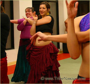 Tribe Nawaar's Level 1 ATS® Bellydance Classes, Boulder, CO