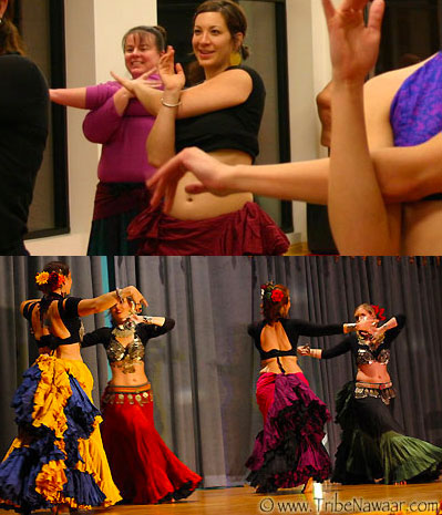 Tribe Nawaar's Tribal Techniques bellydance classes in Boulder, CO