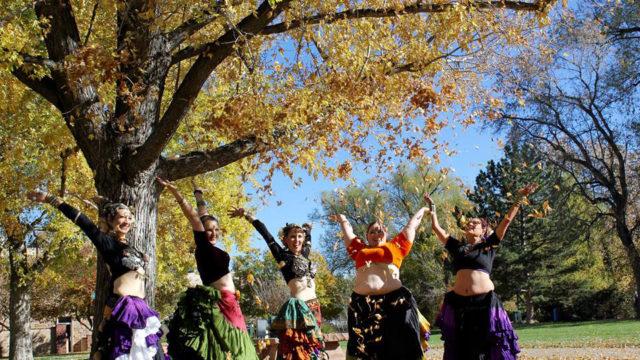 Tribe Nawaar & Students Celebrating!