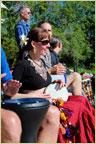 Tribe Nawaar drumming at BolderBOULDER 10k, Memorial Day Weekend