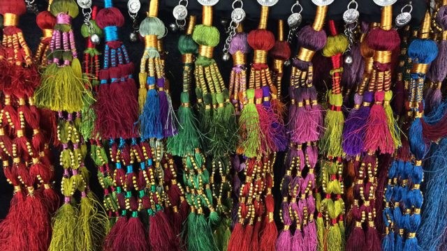 Tribe Nawaar's royal tassel belts & festival tasseled skirts
