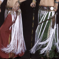 Tribe Nawaar's Vintage Silk Salawar Pants in action!