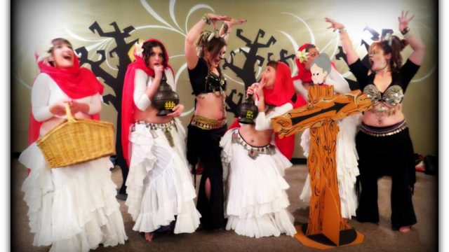 Tribe Nawaar's Halloween Hafla Performance 2015