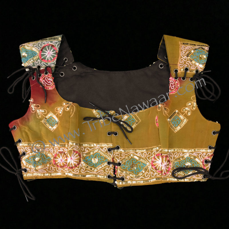 Tribe Nawaar's etruscan gold bodice