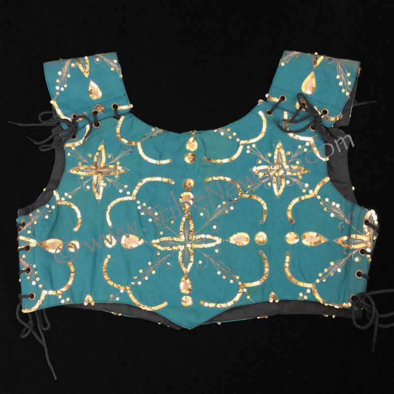 XL Teal Bodice