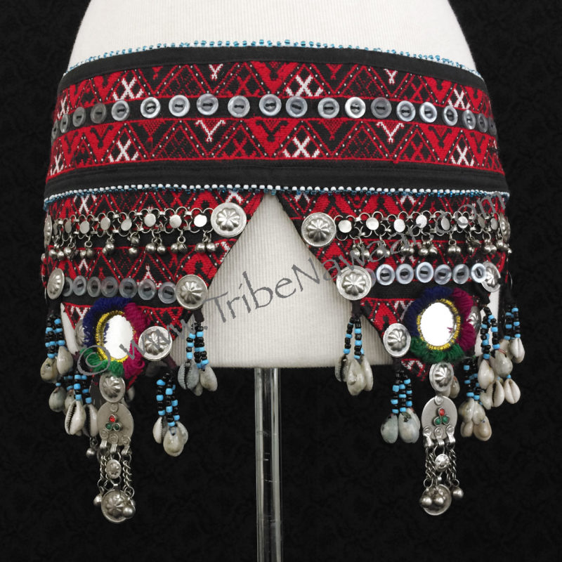 Tribe Nawaar's Traditional Balachi Tribal Belt With Cowrie Shells