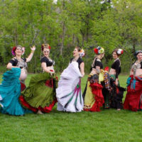 Tribal bellydance classes boulder, co with Tribe Nawaar - Creek Festival 2017